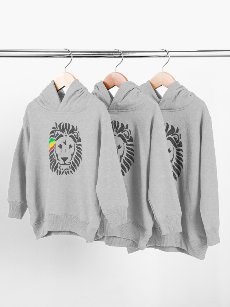 Alternate view of Lion Tuff  Toddler Pullover Hoodie