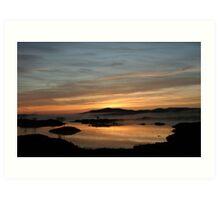 Rannoch sunrise Art Print