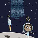 Moon Walk by geekinthegarden