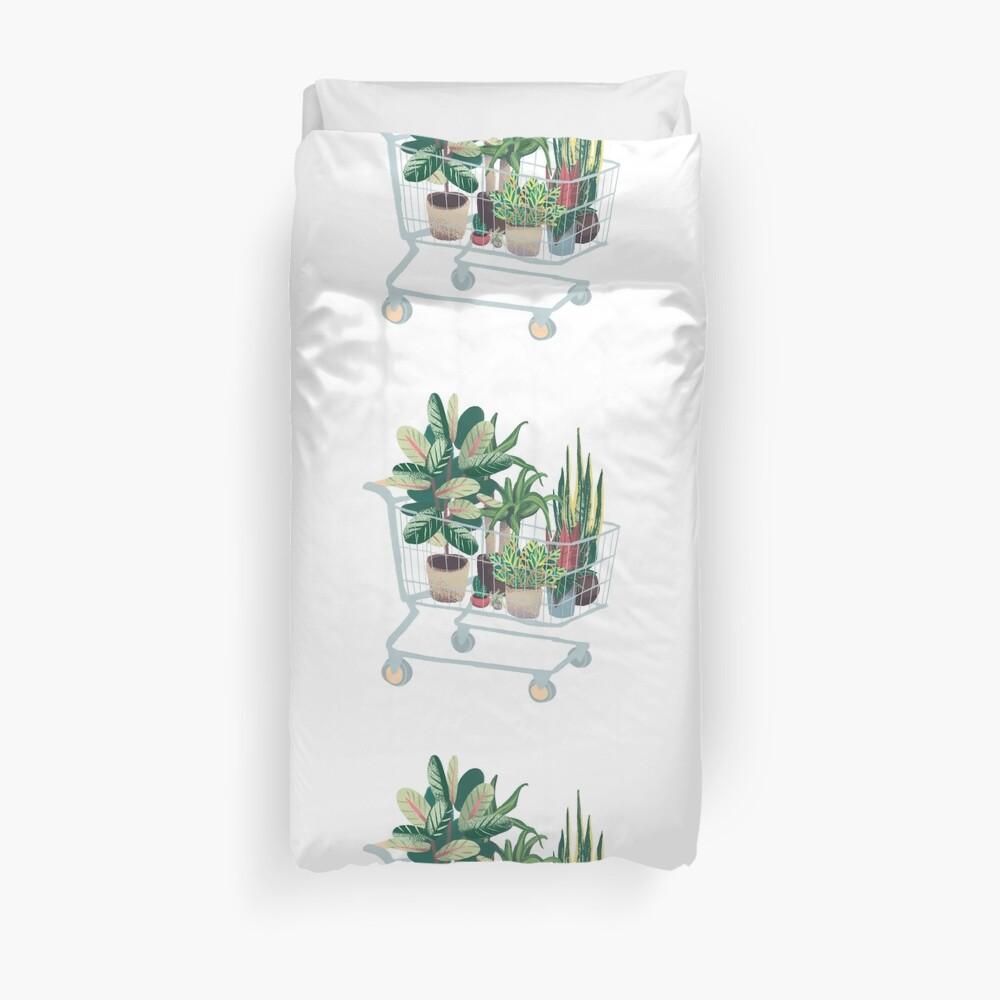 Plant friends Duvet Cover