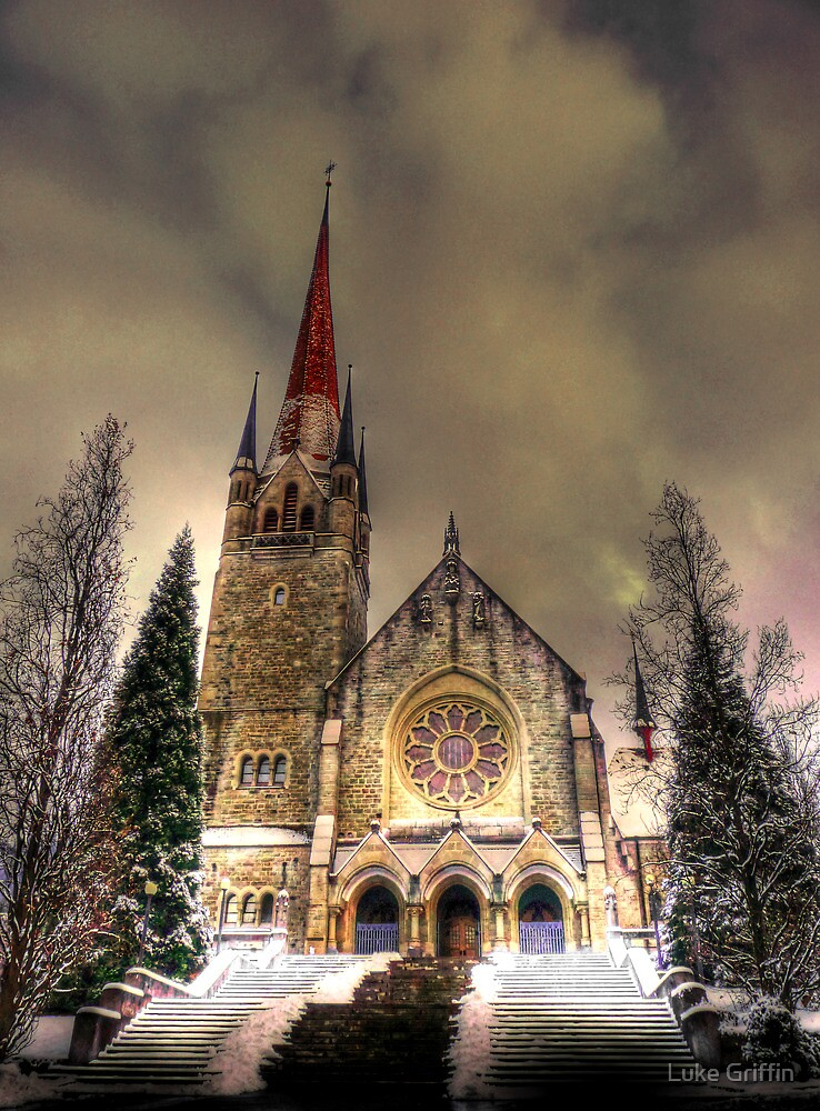 Saintly Steeples 2 by Luke Griffin