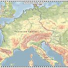 Frankish Empire AD 814 - Version 1 by Cyowari