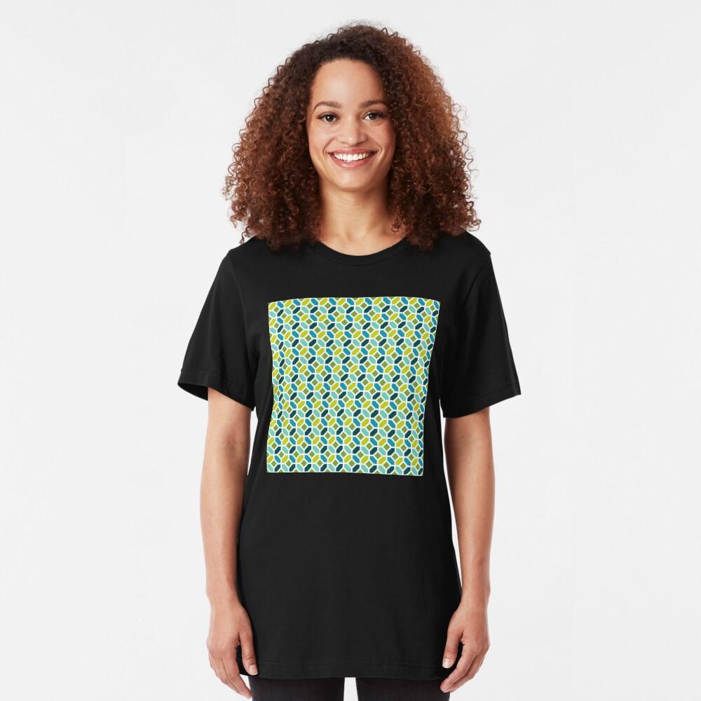Geometric Pattern: Octagon: Spring Slim Fit T-Shirt