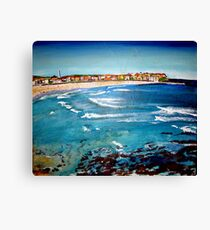 Bondi Colours Canvas Print
