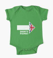 Don't Panic - Arrow One Piece - Short Sleeve