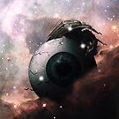 Horror Science Fiction Nebula Dreamscape by Zach Murray