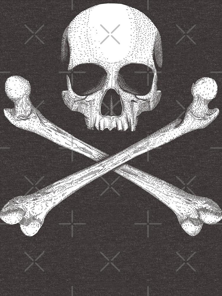 Jolly Roger - Crossbones by GrizzlyGaz