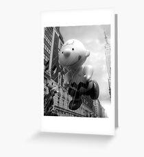 Looking Up at Charlie Greeting Card