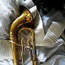 Holiday Euphonium by nadinecreates