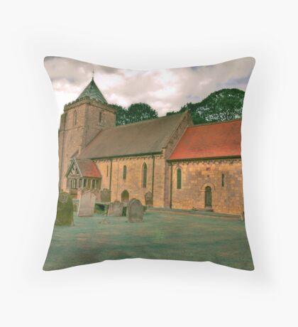 St John of Beverley Church - Salton Throw Pillow