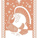 Bronze Turkey by Alice in Underland
