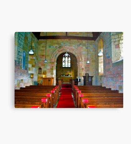 Interior of St John Church Metal Print