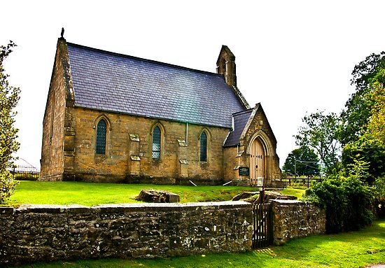 Church of The Holy Epiphany - Butterwick. by Trevor Kersley