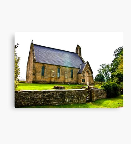 Church of The Holy Epiphany - Butterwick. Canvas Print