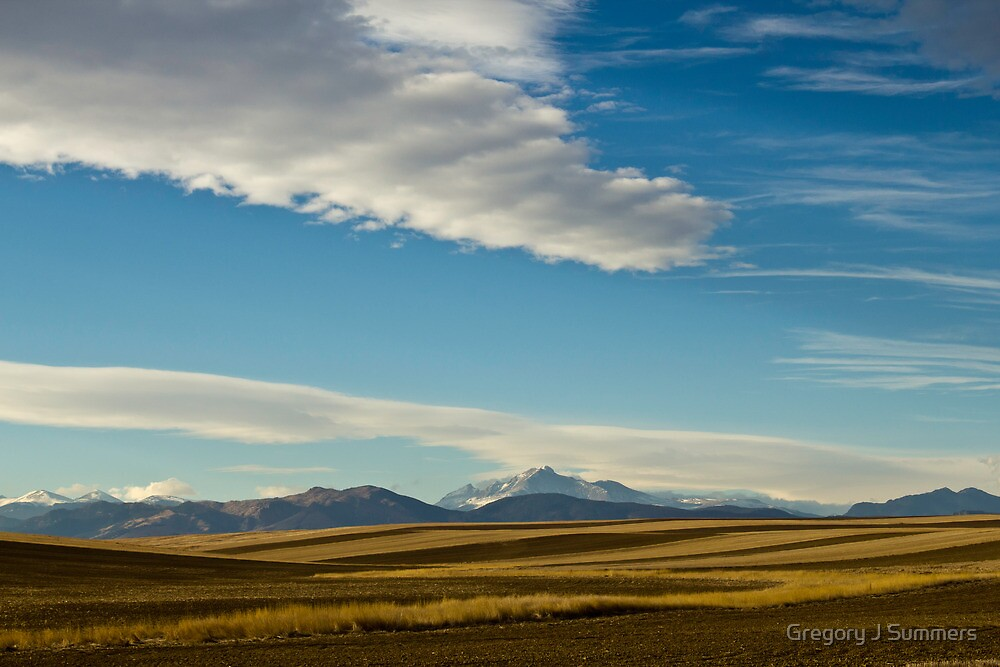 Colorado Waves by Gregory J Summers