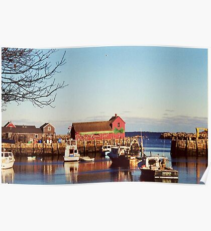 Motif # 1 ~ A Rockport Christmas Poster
