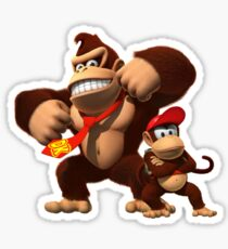 Diddy and donkey kong Sticker