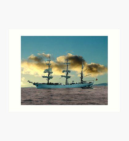 Ship of Dreams Art Print