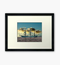 Ship of Dreams Framed Print