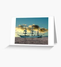 Ship of Dreams Greeting Card