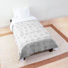 100 Rats Comforter