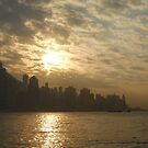 Sundown in Hong Kong by Wayne Holman
