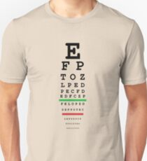 eye test Unisex T-Shirt