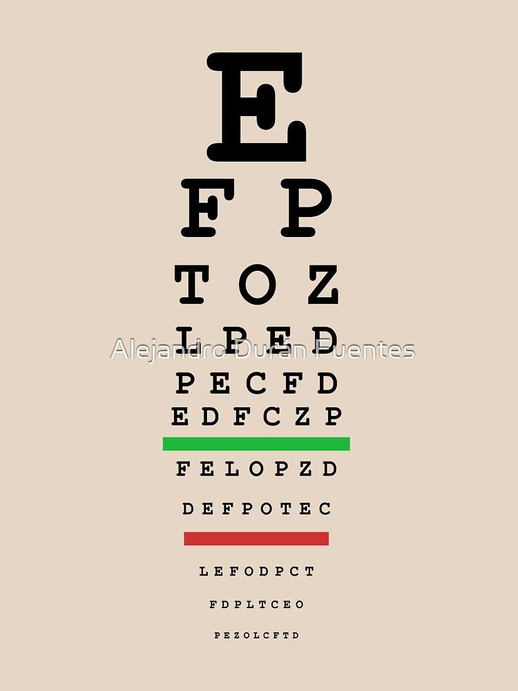 eye test by aduran