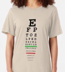 eye test Slim Fit T-Shirt