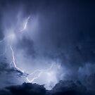 Summer Storm, Wilpena Pound, South Australia by Neville Jones