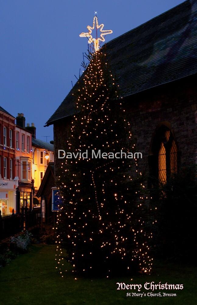 Brecon Christmas card by David Meacham