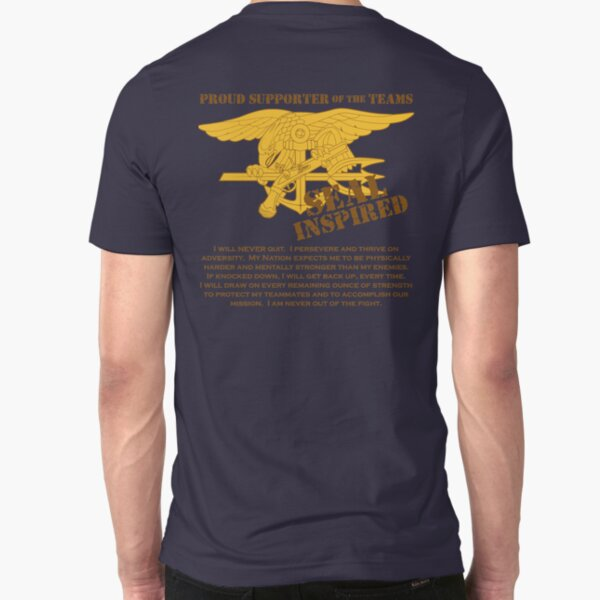 Navy SEAL Inspired with Creed Slim Fit T-Shirt
