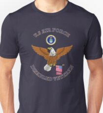 US Air Force Disabled Veteran Eagle Shield Unisex T-Shirt