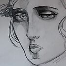 Sketch From a Painting 2 by Mandy Kerr