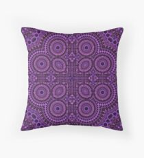 Purple Wonder Throw Pillow