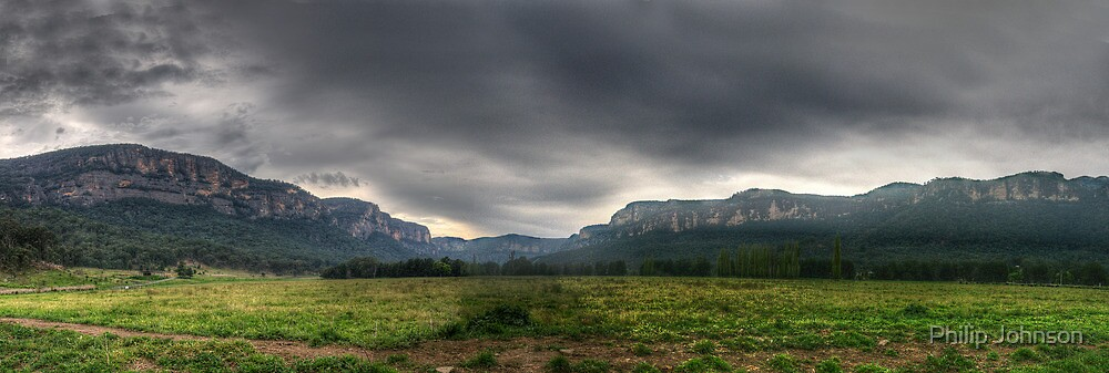Capertee Majesty (35 Exposure HDR Panoramic) - Capertee Valley, West of Sydney - The HDR Experience by Philip Johnson