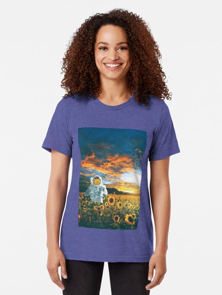 Alternate view of In a galaxy far, far away Tri-blend T-Shirt