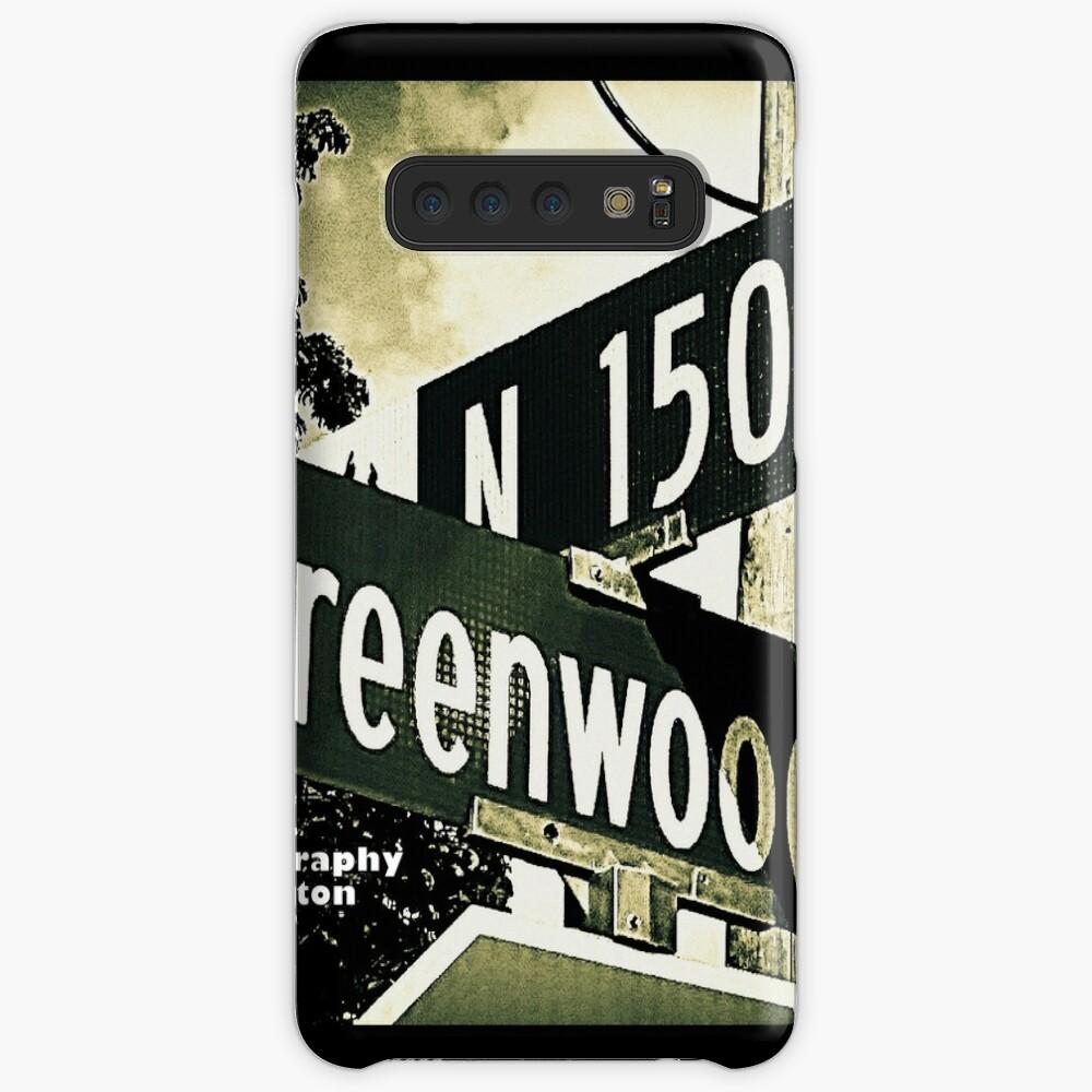 Greenwood Avenue & North 150th Street, Shoreline, WA by MWP Case & Skin for Samsung Galaxy