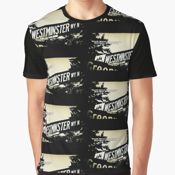 Westminster Way North, Shoreline, WA by MWP Graphic T-Shirt