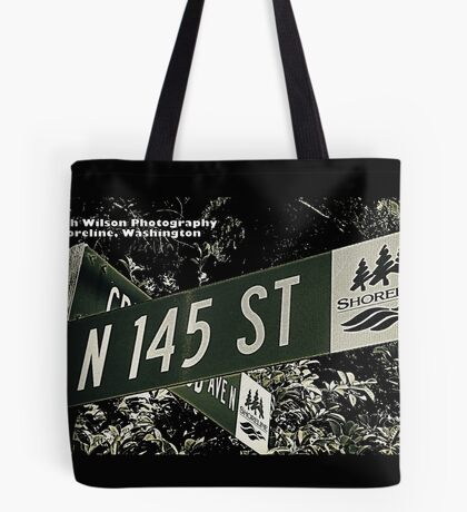 North 145th Street, Shoreline, WA by MWP Tote Bag