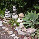 Debbie's Garden Path by Sandra Gray