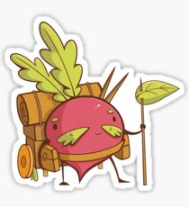Radish Traveler Glossy Sticker