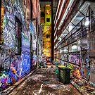 Hosier Lane by Alex Stojan
