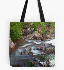 Judds Creek, Judbury, Panorama Tote Bag