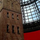 Shooting Up the Shot Tower - Melbourne Central by chijude