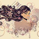 Musik Mädchen 2 von AnnArtshock