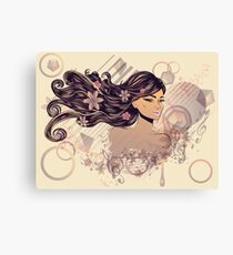 Music Girl 2 Canvas Print