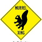 Murrel Xing! Watch out! by SaveTheMurrel