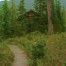 Taylor Meadows Hut - Simplified by Michael Garson