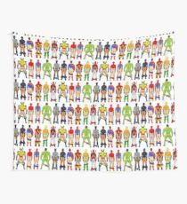 Superhero Butts Wall Tapestry